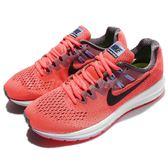 【五折特賣】Nike 慢跑鞋 Wmns Air Zoom Structure 20 紅 黑 白底 運動鞋 透氣避震 女鞋 【PUMP306】 849577-600