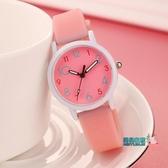 女童手錶 兒童手錶女學生女孩女孩子小學生電子石英錶指針式考試男女童手錶