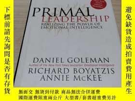 二手書博民逛書店Primal罕見LeadershipY211464 Daniel Goleman Harvard Busine