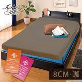 床墊 8cm  防蟎抗菌釋壓型- 記憶床墊 雙人5尺記憶床墊MIT (三色)