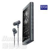 【曜德★送盥洗包+絨布袋】SONY NW-A56HN (32GB) 黑 觸控藍芽 A50系列數位隨身聽