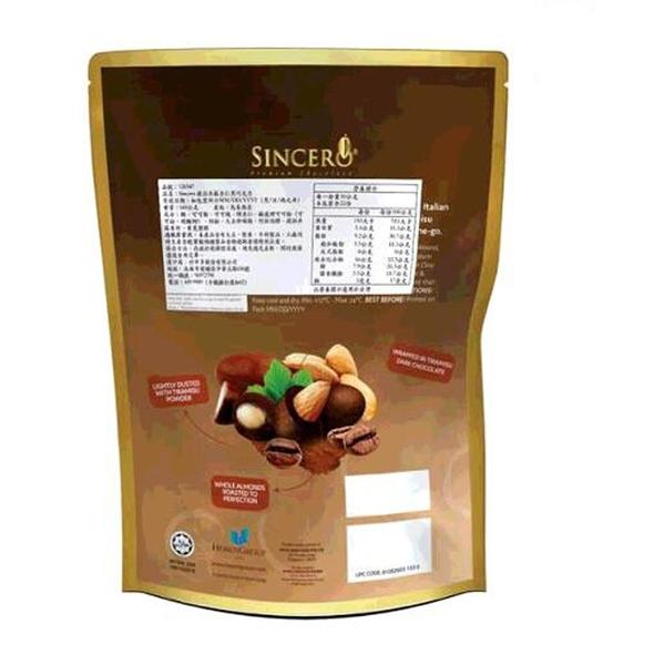 [COSCO代購] W126547 Sincero 提拉米蘇杏仁黑巧克力 660公克