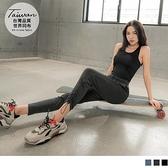 《KS0788》台灣製造.彈力腰鬆緊褲腳抽繩運動長褲 OrangeBear