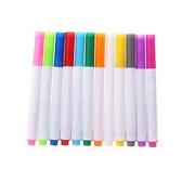 鮮豔塗鴉彩色水粉筆 12入裝 不挑色 水粉筆 彩色筆