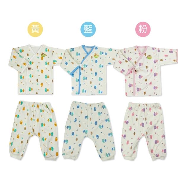 (二件組)台灣製有機棉肚衣+褲  防抓護手 新生兒服 大屁屁褲  超柔軟 寶寶衣 嬰兒用品【GD0140】