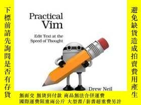 二手書博民逛書店Practical罕見VimY255562 Drew Neil Pragmatic Bookshelf 出版