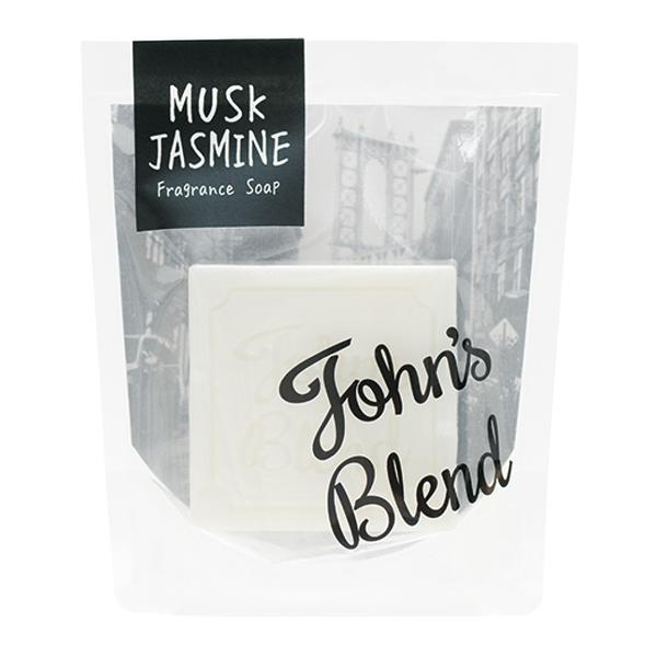 日本 John's Blend限定版 香氛 香皂 肥皂 90g -茉莉白麝香 【6332】