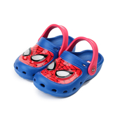 MARVEL 蜘蛛人電燈園丁鞋 藍紅 MNKS79516 中大童鞋 鞋全家福