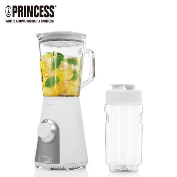 【荷蘭公主 PRINCESS】Blend2Go玻璃壺果汁機/消光白(217400)