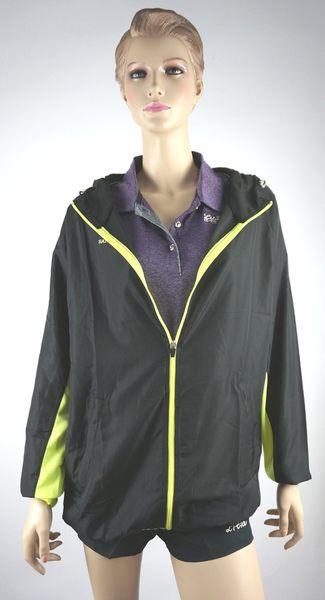 雙色防潑水風衣外套
