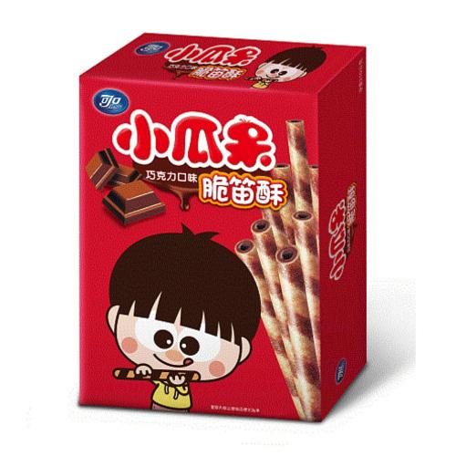 (小呆瓜)可口脆笛酥巧克力80g(12盒/箱)【合迷雅好物超級商城】