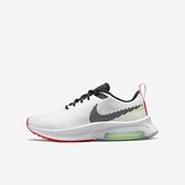 Nike Air Zoom Arcadia Gs [CK0715-103] 大童鞋 女鞋 慢跑 運動 透氣 緩震 白 黑