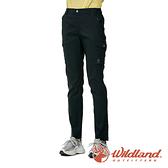 【wildland 荒野】女 彈性抗UV機能長褲『黑色』0A91321 戶外 休閒 運動 露營 登山 吸濕 排汗 快乾