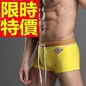 四角泳褲-溫泉戲水高檔獨特男平口褲56d59[時尚巴黎]