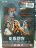 挖寶二手片-J07-087-正版DVD*電影【地獄訪客】-黛比杜區*連雷瑟