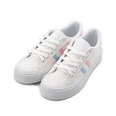 GIOVANNI VALENTINO 基本款雙條板鞋 白粉 女鞋 鞋全家福