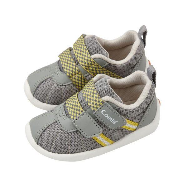 【機能鞋款出清中】Combi 康貝 微風暖洋幼兒機能鞋-月光灰