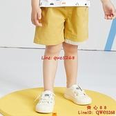 童裝兒童短褲新款小童休閑褲男童寬松洋氣薄中褲【齊心88】