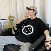 短袖t恤男大碼韓版寬松打底衫情侶上衣【左岸男裝】