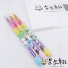【樂樂童鞋】台灣製角落小夥伴彩色蠟筆 A005 - 台灣製文具 MIT文具 彩色蠟筆 學生用品 彩色筆