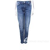 VERSACE 金標藍刷色牛仔褲 1920364-23