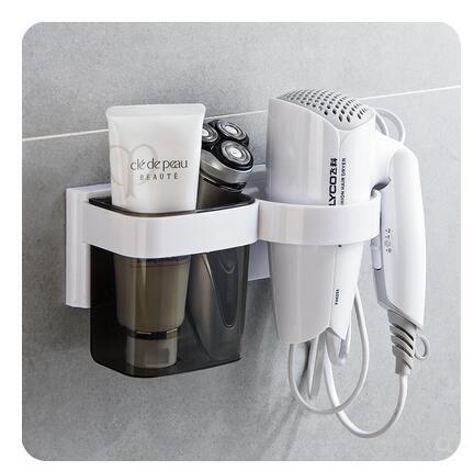 衛生間免打孔吹風機架 浴室壁掛吹風筒掛架電吹風置物架 - 風尚3C