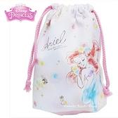 日本限定 迪士尼公主系列  愛麗兒 / 小美人魚 束口袋 / 收納袋