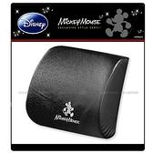 【愛車族】Disney 米奇低反彈腰靠墊-黑色 WDC-094C 迪士尼系列