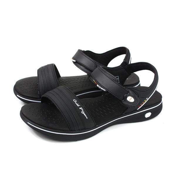 GP (Gold.Pigon) 阿亮代言 涼鞋 黑色 女鞋 G8697W-10 no145