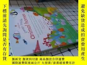 二手書博民逛書店Peep罕見inside Animal homesY271780