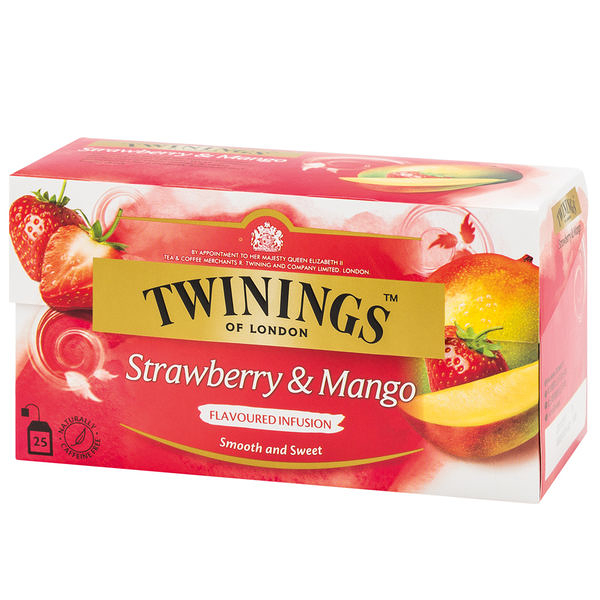 唐寧茶【Twinings】草莓芒果茶(2gx25入茶包)
