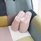 日質素格拖鞋-玫瑰粉L-生活工場