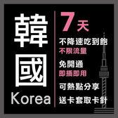 現貨 韓國通用 7天 KT電信 4G 不降速 免開通 免設定 網路卡 網卡 上網卡