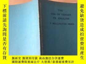 二手書博民逛書店THE罕見USE OF TENSES IN ENGLISH(英語