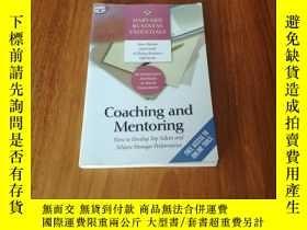 二手書博民逛書店COACHING罕見AND MENTORING:HOW TO D