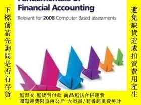 二手書博民逛書店Cima罕見Official Learning System Fundamentals Of Financial