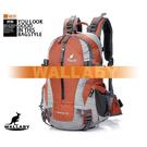 【活動優惠碼black1118】WALLABY 袋鼠牌 #2083-OR 戶外旅行 登山包 雙肩包 尼龍 防水運動背包 橘色 25L