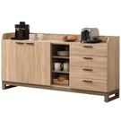 櫥櫃 餐櫃 QW-524-4 漾水晶5.3尺收納置物櫃【大眾家居舘】
