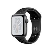 【免運費】Apple Watch Series4 Nike+ 44mm GPS版太空灰鋁金屬錶殼配黑色Nike運動錶帶(MU6L2TA/A)