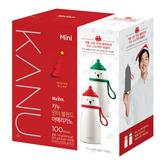 韓國 KANU 美式咖啡聖誕組(0.9gx100包) 贈小白熊保溫杯 孔劉咖啡 交換禮物 聖誕禮物 禮物