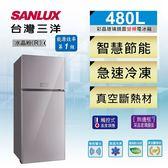 6期0利率 SANLUX台灣三洋 480L變頻2門電冰箱 SR-C480BVG