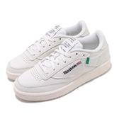 Reebok 休閒鞋 Club C 85 米白 綠 男鞋 女鞋 運動鞋 【PUMP306】 FX1378