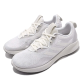 adidas 慢跑鞋 PureBounce Street W 灰 白 女鞋 避震 運動鞋 【PUMP306】 F34225