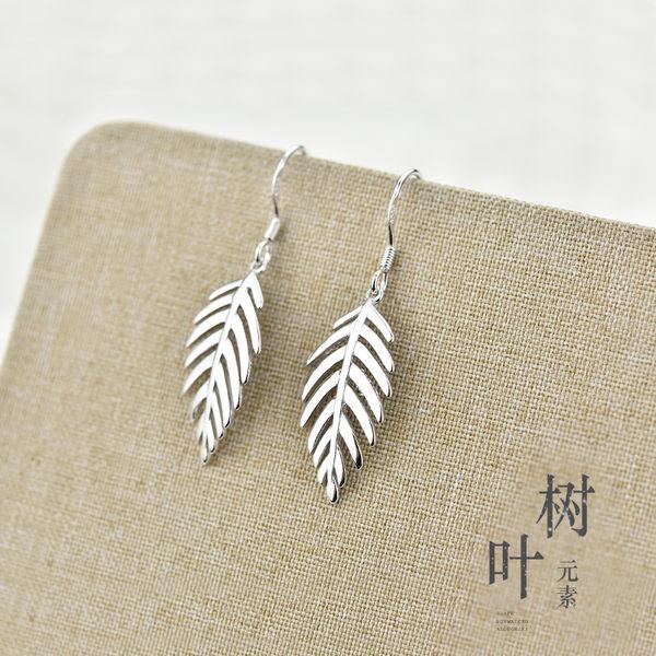 【618好康鉅惠】長款純銀耳飾韓國氣質耳扣清新簡約銀飾