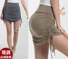 來福,B467運動裙子烏拉二邊拉裙慢跑裙S-L正品,售價699元