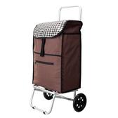 WEEY 可拆式 加大靜音輪 購物車 菜籃車 載運車(咖格)29-020D1