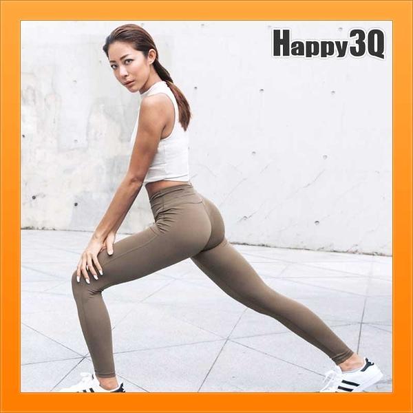 運動褲瑜珈褲緊身褲跑步褲慢跑褲彈性彈力貼身褲歐美健身褲緊身提臀-XS-L【AAA3170】預購