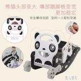 兒童搖搖馬二合一滑梯生日禮物車一周歲寶寶嬰兒兩用玩具木馬寶寶 LR22074『麗人雅苑』