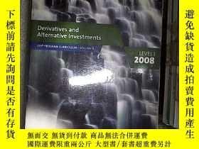 二手書博民逛書店Derivatives罕見and Alternative Investments Level 1 2008 200