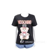 MOSCHINO 馬戲團泰迪熊黑色短袖T恤 1920579-01